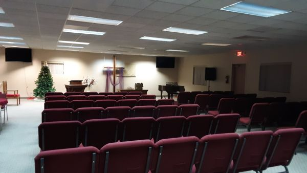 WE WILL WORSHIP IN OUR NEW SPACE ON SUNDAY, DECEMBER 16, 2018!!!